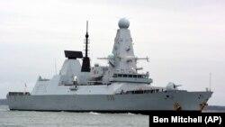 کشتی جنگی دیفندر بریتانیا