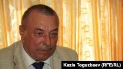 Ішкі істер министрінің бұрынғы орынбасары Александр Саванков. Алматы, 14 мамыр 2014 жыл.