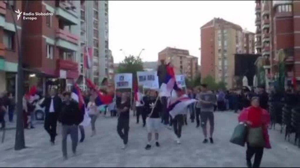Protestë në Mitrovicën veriore kundër lirimit të Haradinajt