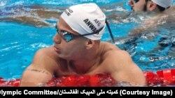 فهیم انوری٬ شناگر افغان