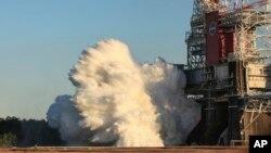 Испытания Space Launch System.