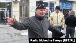 Ристо Трајковски, 81-годишен кореограф од Битола.