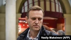 Олексій Навальний вирушає з Москви до Астрахані, Росія, 22 жовтня 2017 року