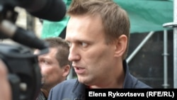 Алексей Навальный, российский оппозиционер.
