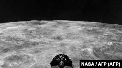 1969-cu ildə Ayın ətrafında dövrə vurmuş Apollo X Amerika missiyası
