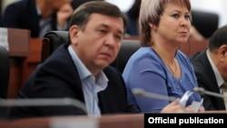 Депутат ЖК Азамат Арапбаев.