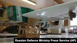 Rusiya hərbi bazasına hücumda iştirak etdiyi bildirilən dronlardan biri