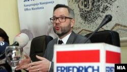Архивска фотографија-државниот министер за Европа на Германија Михаел Рот