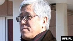 Амандык Баталов в бытность заместителем акима. Март 2010 года.