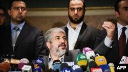 کنفرانس خبری خالد مشعل در روز دوشنبه