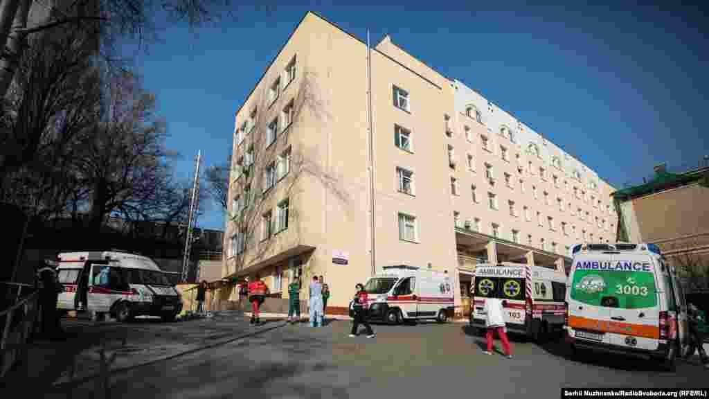 Олександрівська клінічна лікарня визначена як одна з лікарень, що мають спеціальне обладнання та зможуть приймати людей на карантин у випадку інфікування коронавірусом