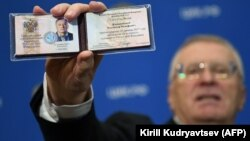 Володимир Жириновський є одним із восьми кандидатів у президенти в Росії