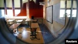 Prazna učionica, ilustrativna fotografija