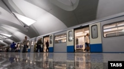 The new station is the 187th to be opened on Moscow's sprawling metro system. (file photo)