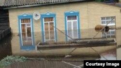 Наводнение в столице Забайкалья