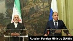 Ռուսաստանի և Իրանի ԱԳ նախարարներ Սերգեյ Լավրովն ու Մոհամադ Ջավադ Զարիֆը, արխիվ