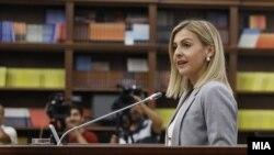 Министерката за финансии Нина Ангеловска