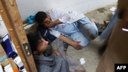 """Фотография из госпиталя в Кундузе, опубликованная """"Врачами без границ"""" после авиаобстрела 3 октября"""
