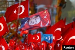"""Митинг """"Демократии и Мучеников"""" в Стамбуле. 7 августа"""
