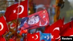 Митинг правящей партии в Стамбуле, Турция, 7 августа 2016 года