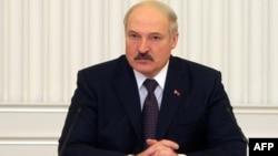 Президент Беларуси Александр Лукашенко. Минск, 28 февраля 2012 года.