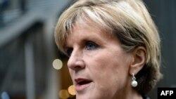 Джулі Бішоп, міністр закордонних справ Австралії