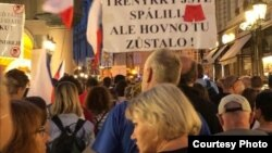 Moldova - Praga, proteste 21 august 2019