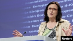 """I think it is very important not to undermine the whole idea of Schengen,"" said EU Home Affairs Commissioner Cecilia Malmstrom."