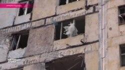 Последствия обстрела Авдеевки 18 июля 2015 года