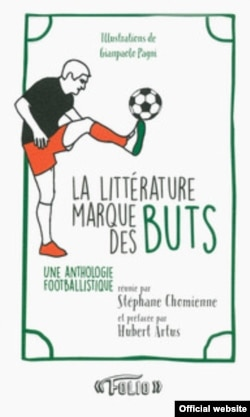 France - cover book Euro 2016 Football & literature