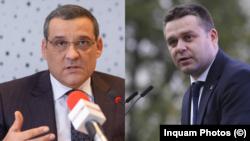 Principalii candidați care se înfruntă pentru primăria Sectorului 6: Gabriel Mutu (PSD) și Ciprian Ciucu ( PNL și Alianța USR PLUS)