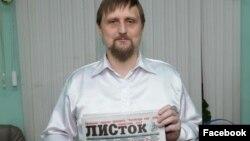 """Учредитель газеты """"Листок"""" Сергей Михайлов"""