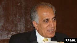 داکتر زلمی خلیلزاد سفیر سابق امریکا در افغانستان