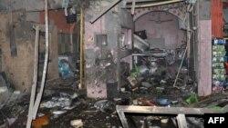 آثار تفجير في الناصرية