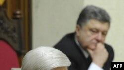 Генпрокурор Украины Виктор Шокин выступает в Верховной Раде. 16 февраля 2016 г.