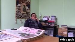 Редактор оппозиционной газеты «Дат» Ермурат Бапи.