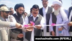 Sherzai likes to inaugurate reconstruction projects.