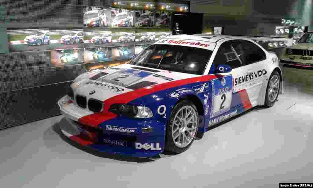 BMW M3 GTR. 2004 року випуску