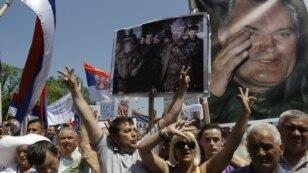 Protest zbog hapšenja Ratka Mladića, Banjaluka 31. maj 2011