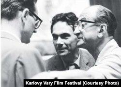 Алексей Баталов и Михаил Ромм, 1962