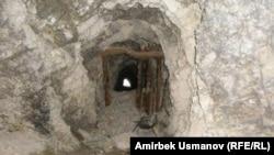 Сарт-Ыстаган кенинин ооз жагындагы кашаа тосмо. Ич жагынан тартылган сүрөт. Чаувай, 20-июль 2011