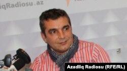 Исполнительный секретарь движения REAL Натиг Джафарли