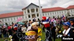 Антиправительственная демонстрация в Бангкоке