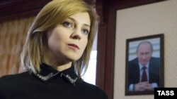 Crimea's Prosecutor-General Natalya Poklonskaya has called for the closure of RFE/RL's Crimea website.