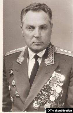 Маршал Виктор Харченко, начало 1970-х
