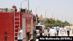 Место террористической атаки в Каире. 28 июня 2014 года. Иллюстративное фото.