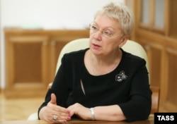Министр образования Ольга Васильева поддерживает законопроект