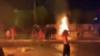 تصویری از اعتراضات در شهر ماهشهر