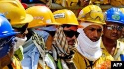 عمده کارگران از کشورهای هند و نپال هستند