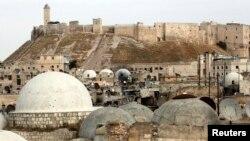 قلعة حلب في سوريا